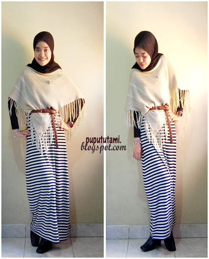 Tren Baju Musim 2013 Model Baju Muslim Casual Stripped Brekelesix S Blog Membangun Paradigma