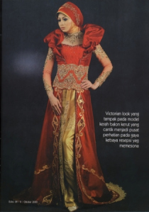 Model Baju Muslimah Kebaya Modern Terbaru